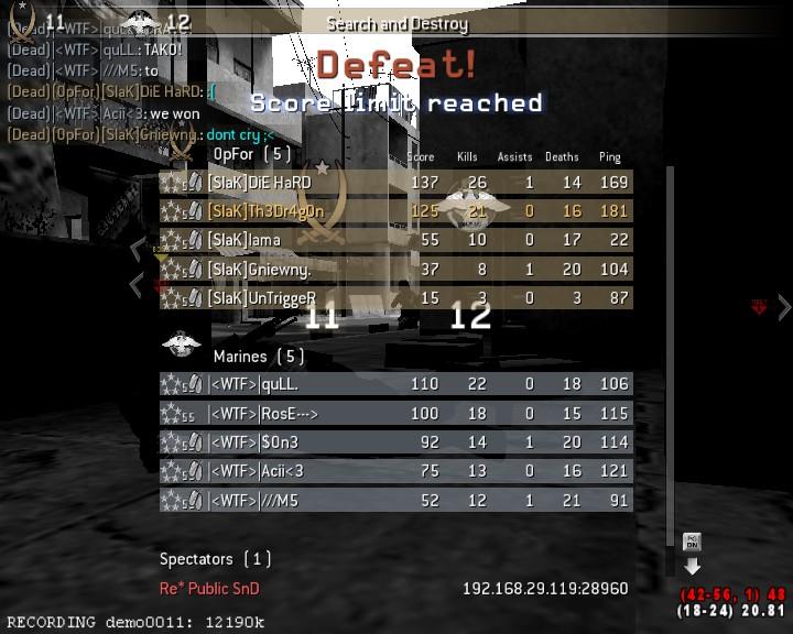[SlaK] vs |<WTF>| 13/9 - 2010 Shot0022