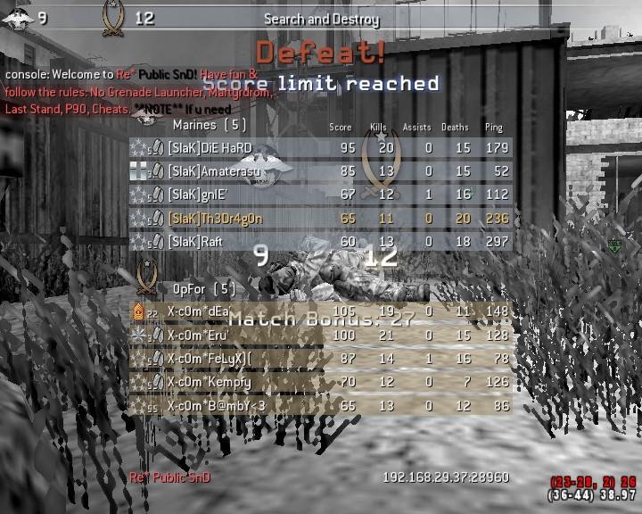 [SlaK] vs x-c0m 18/9 - 2010 Shot0023