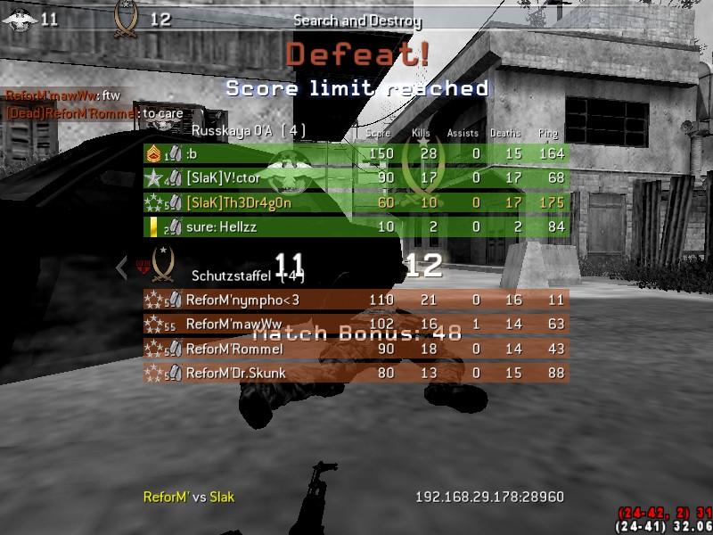 [SlaK] vs Reform 18/4 - 2011 Shot0036