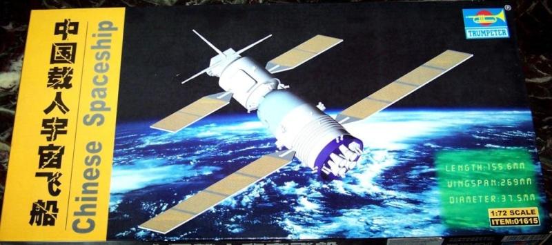 Chinese Spaceship von Trumpeter in 1:72. 100_1810