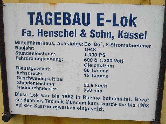 Loks & co. aus dem Technikmuseum Speyer. 111