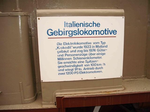 Loks & co. aus dem Technikmuseum Speyer. 112