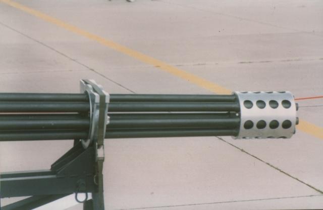 30 mm Gatling Details 510