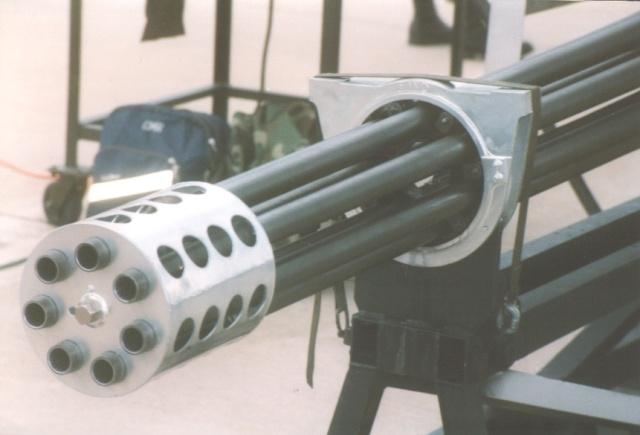 30 mm Gatling Details 610