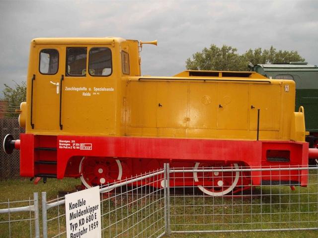 Loks & co. aus dem Technikmuseum Speyer. B10