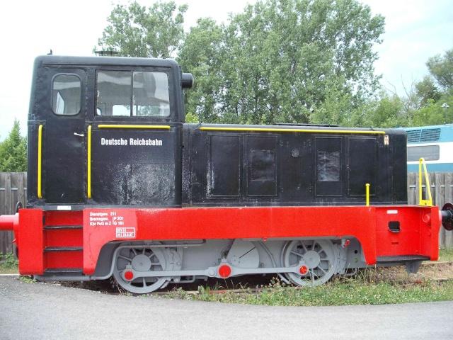 Loks & co. aus dem Technikmuseum Speyer. C10