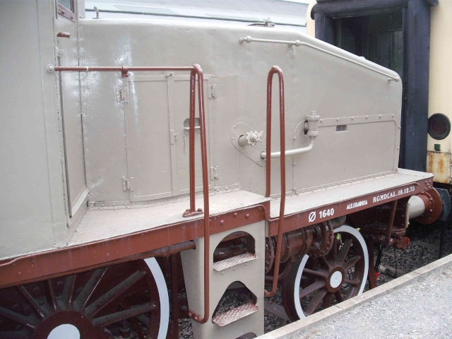 Loks & co. aus dem Technikmuseum Speyer. Dscf8068