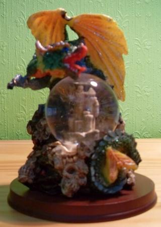 BOULE DE NEIGE Dragon10