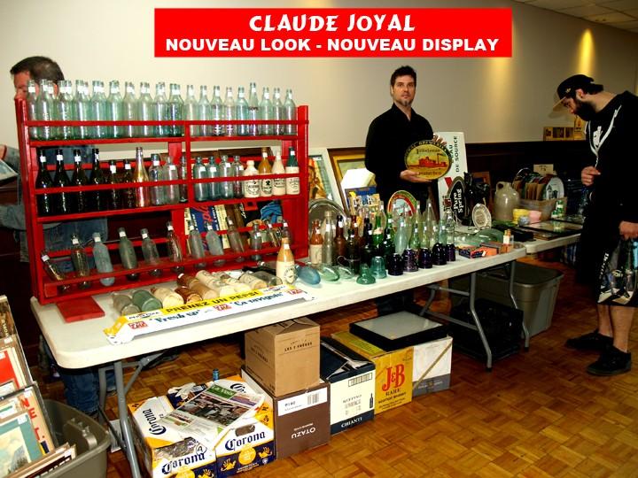 prochain show de bouteilles et cruches anciennes du quebec 8 novembre 2015 Claude10