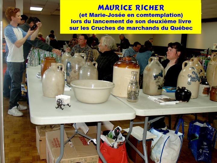 prochain show de bouteilles et cruches anciennes du quebec 8 novembre 2015 Mauric10