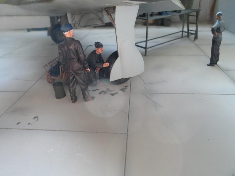 Dornier 335 Pfeil à Oberpfaffenhofen 1945 (diorama) Sam_3274