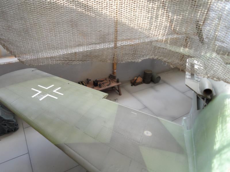 Dornier 335 Pfeil à Oberpfaffenhofen 1945 (diorama) Sam_3278