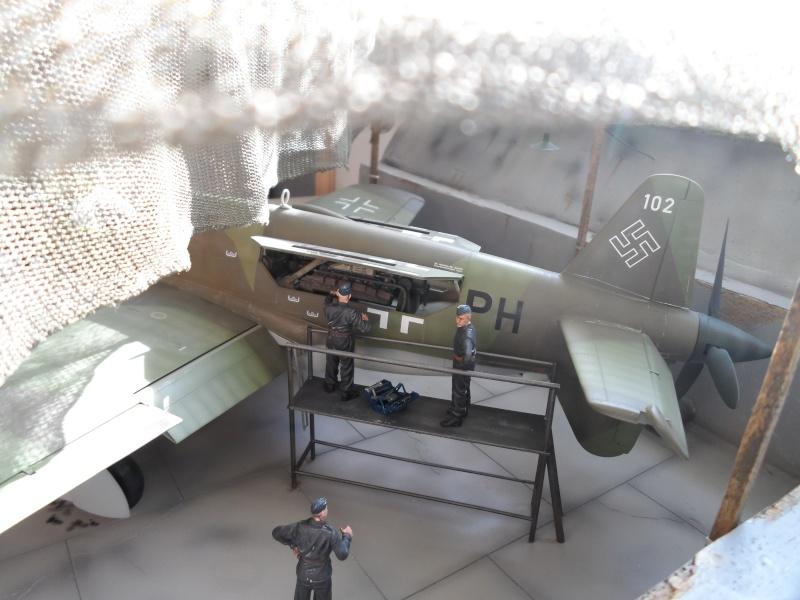 Dornier 335 Pfeil à Oberpfaffenhofen 1945 (diorama) Sam_3279