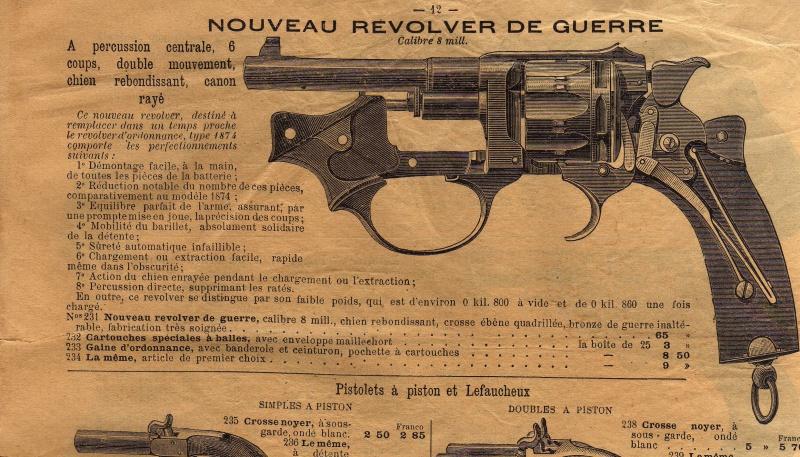 Revolver M.A.S. ? Mle 1888 civil ? 48762510