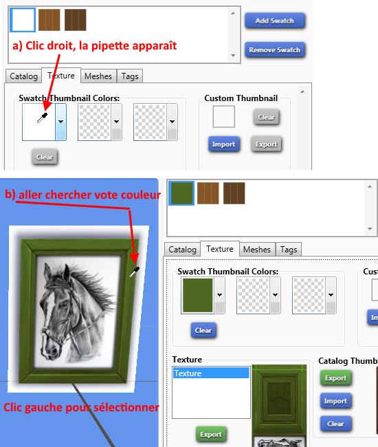 [Débutant] S4 Studio : recoloration de meuble - exemple d'un tableau 0210