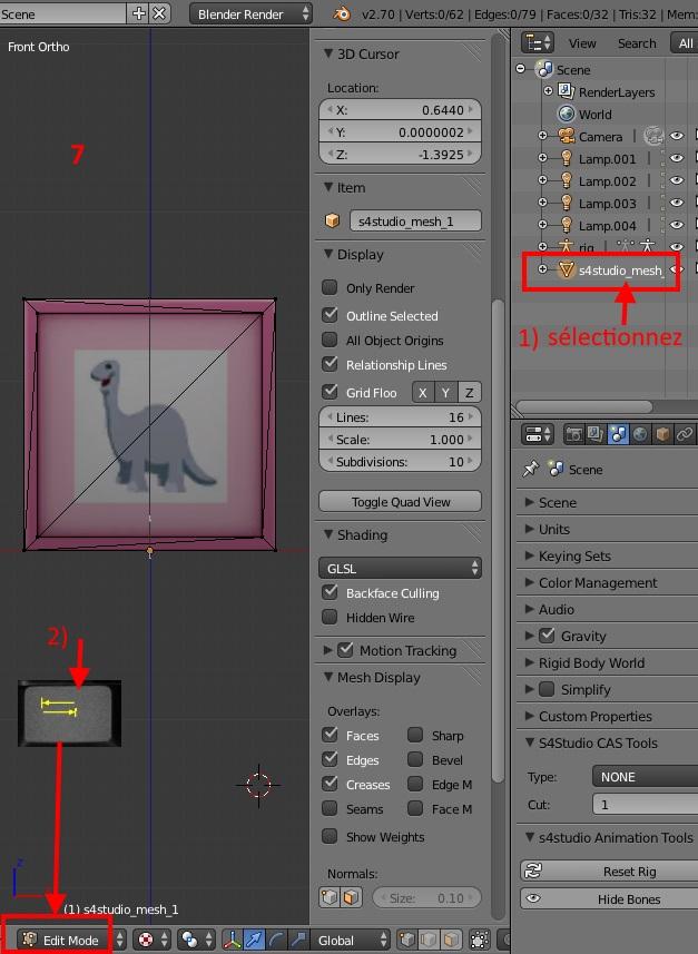 [Débutant] Modifier le footprint d'un tableau S4s-mo15