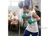 Pacquiao spars vs Margarito clone in 4 rounds  Xmk29510