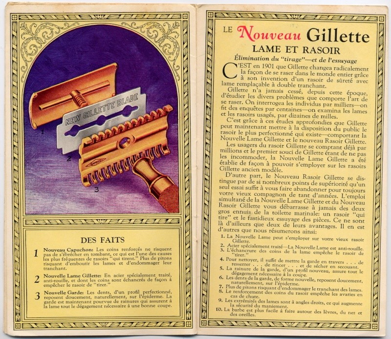 Gillette New 19302010
