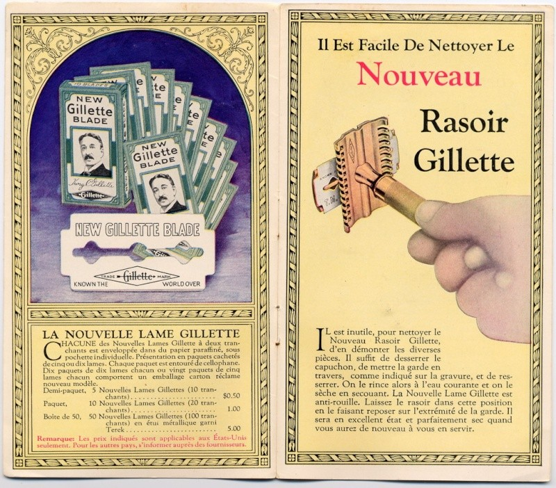 Gillette New 19302011