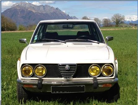 Présentation Alfetta 1800 1978 Alfett11