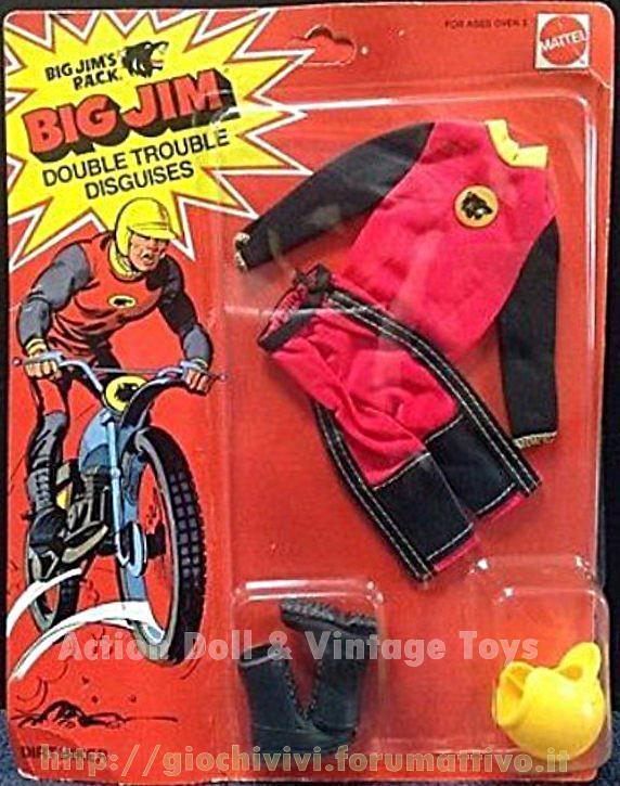 """Big Jim's P.A.C.K. Double trouble adventure sets """"Dirt Biker""""  No. 9332 Dirt_b10"""