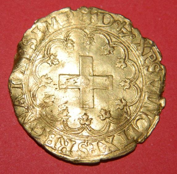ecu d'or a la croisette francois 1er Dscn5612