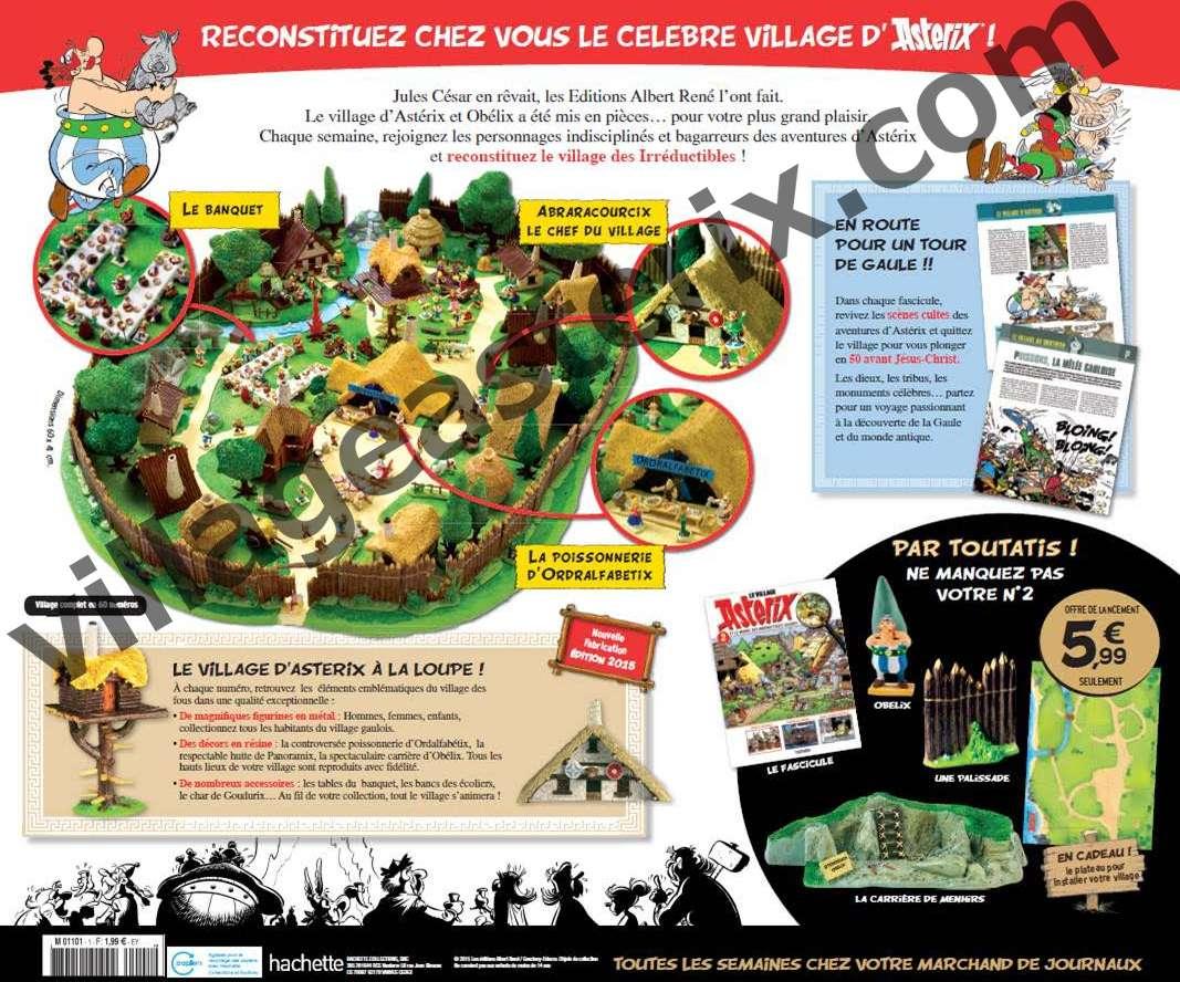 Le Village Asterix - Hachette-Collections (2016) Unname12