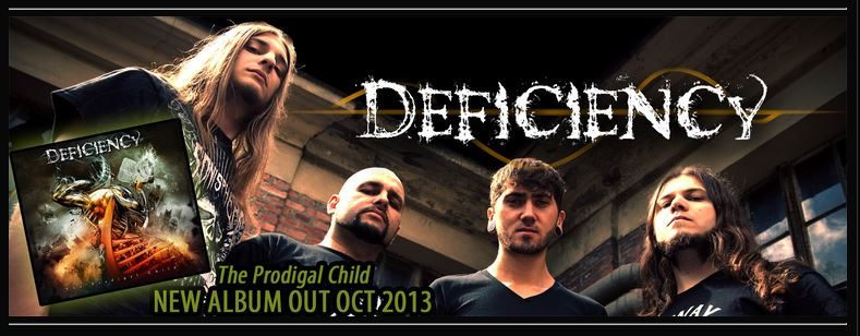 "DEFICIENCY  ""The Prodigal Child"" (Thrash FR - OCT 2013) Defici10"