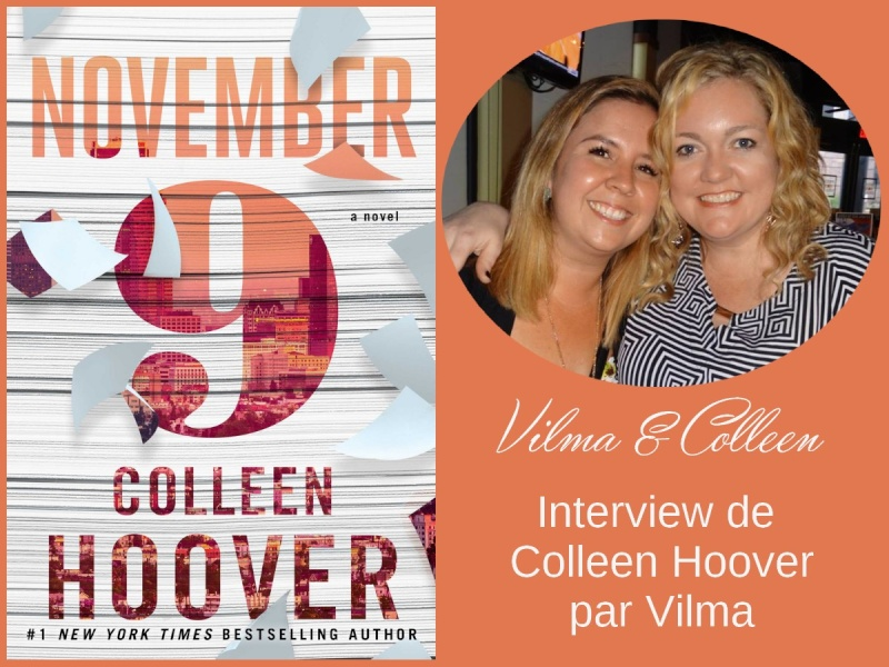 November 9 : Interview de Colleen Hoover par Vilma Interv10
