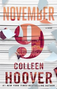 November 9 : Interview de Colleen Hoover par Vilma Novemb10