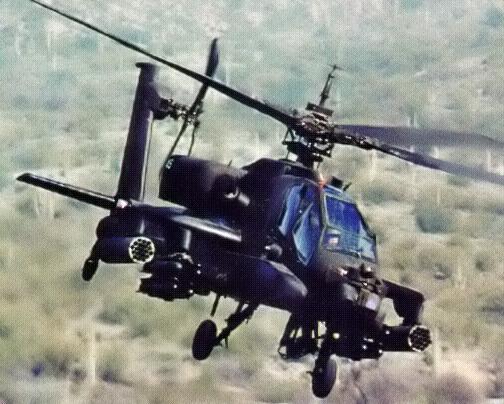 Hélicoptère militaire américain Ah-64_10