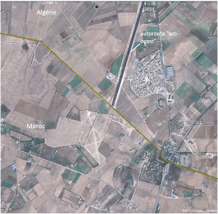 Frontière Algéro-Marocaine Fronti10