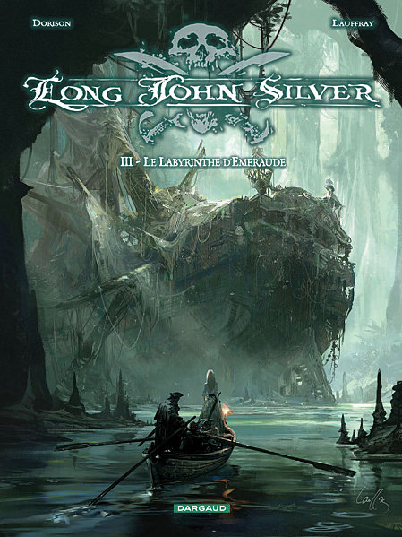 LONG JOHN SILVER (Tome 3) LE LABYRINTHE D'EMERAUDE de Xavier Dorison Long-j11