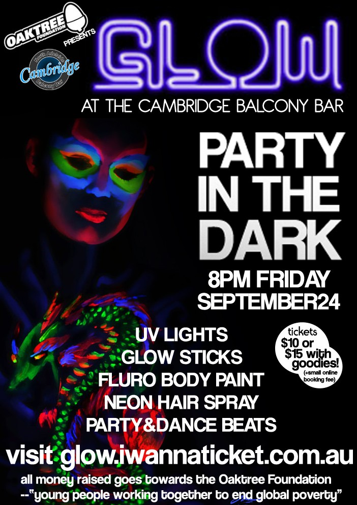 Glow in the Dark Party Poster10