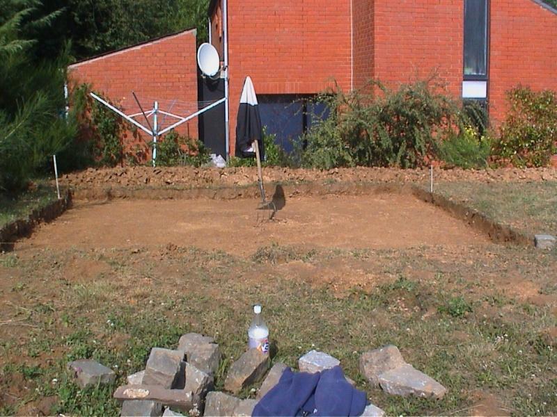 Construction d'un chalet de jardin 310