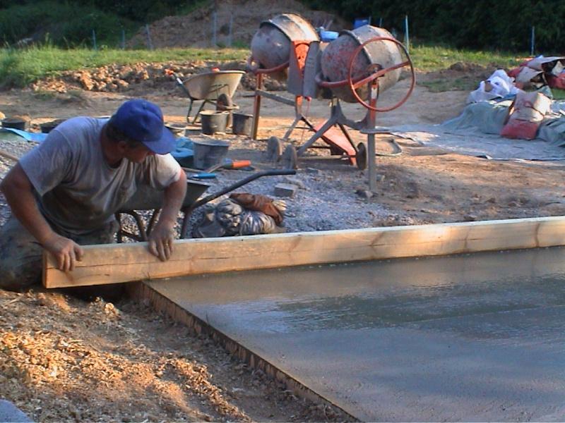 Construction d'un chalet de jardin 9lissa10