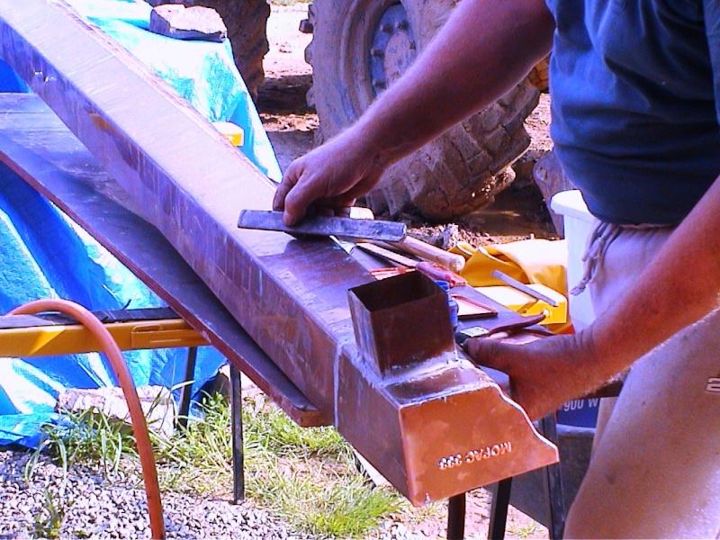Construction d'un chalet de jardin Cornic10