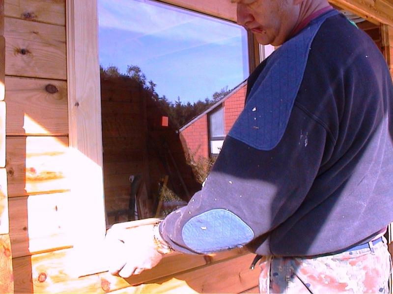 Construction d'un chalet de jardin Lattes10