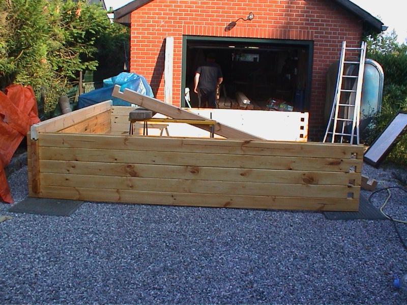 Construction d'un chalet de jardin Montag10