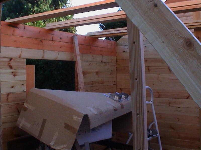 Construction d'un chalet de jardin Prapar10