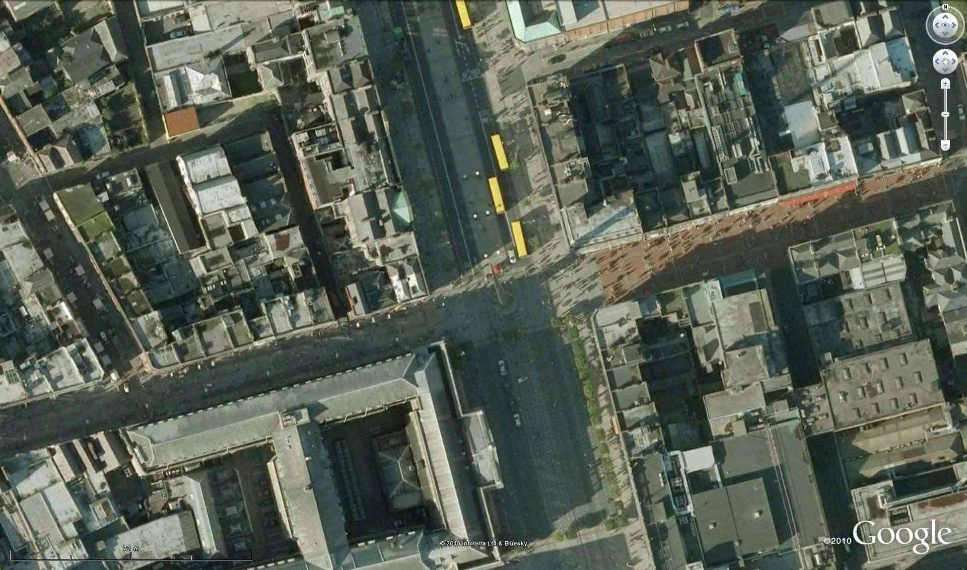"The Spire of Dublin, Dublin, Irlande, 53°20'59.21""N 6°15'36.98""W [Défi trouvé] Defi_d10"