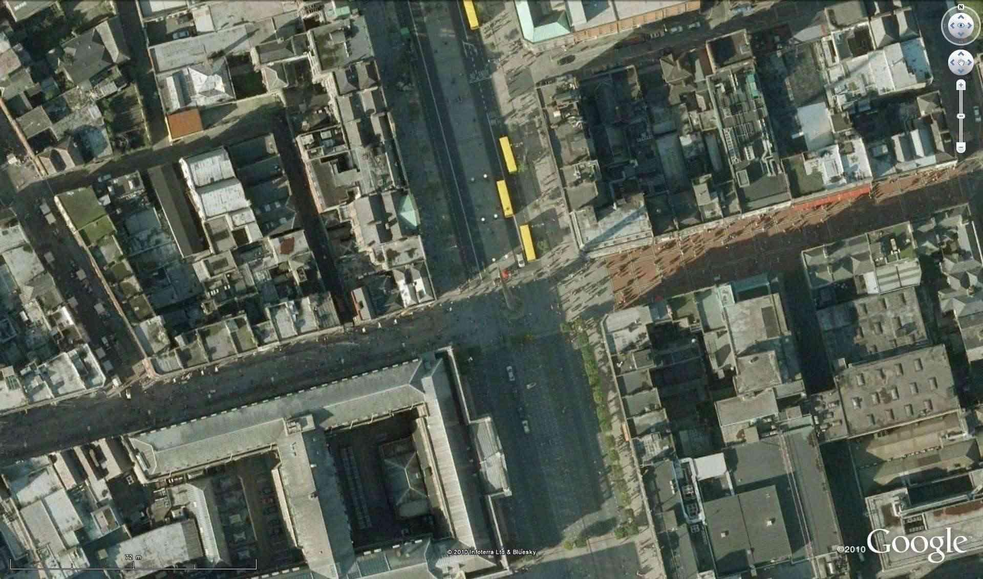 "The Spire of Dublin, Dublin, Irlande, 53°20'59.21""N 6°15'36.98""W [Défi trouvé] Defi_d11"