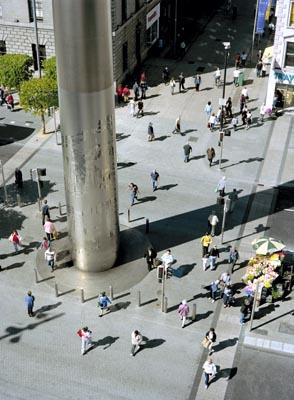 """The Spire of Dublin, Dublin, Irlande, 53°20'59.21""""N 6°15'36.98""""W [Défi trouvé] Detail10"""