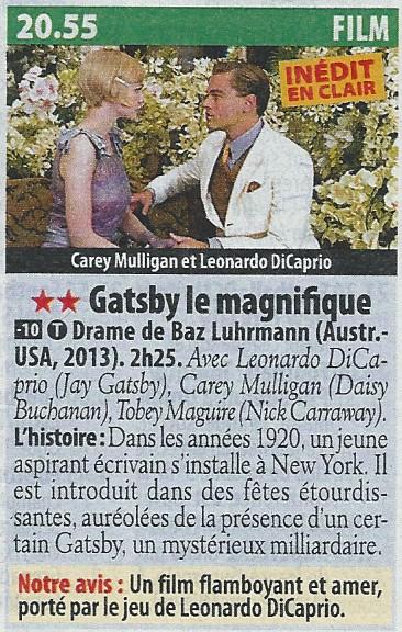"""Programme télé avec les acteurs de """"Titanic"""" - Page 3 Gatsby10"""