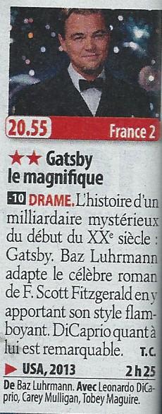 """Programme télé avec les acteurs de """"Titanic"""" - Page 3 Gatsby11"""