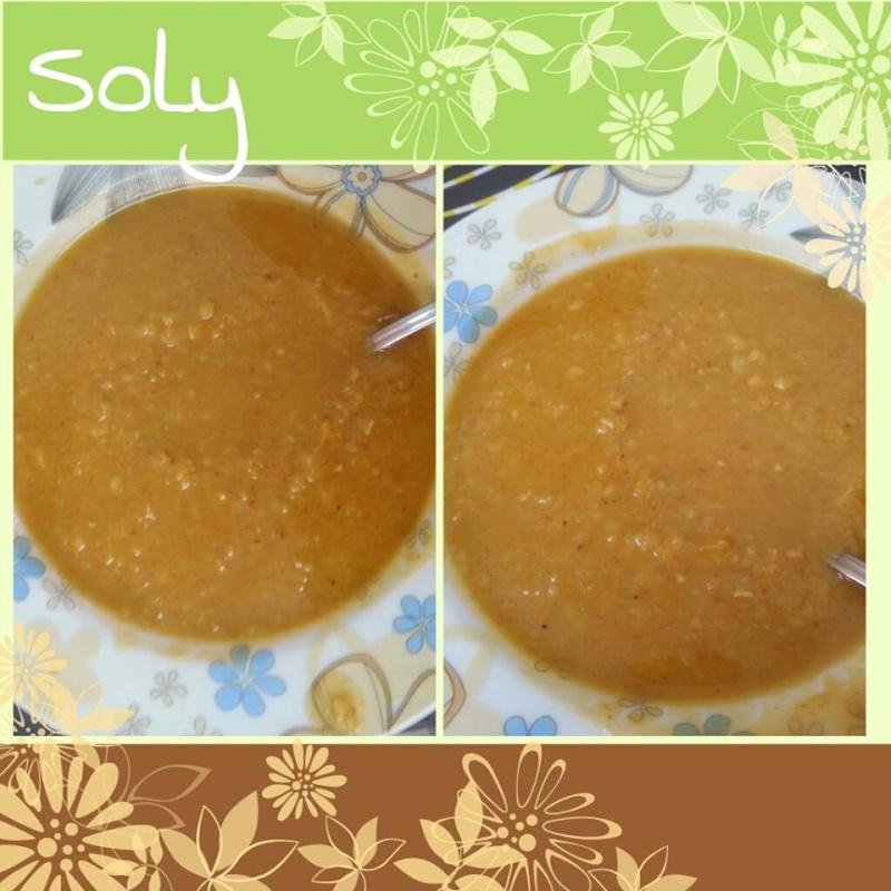 SOUPE AUX FEVES SECHES DE MA GRAND-MERE (Bissara est une soupe marocaine populaire) 510