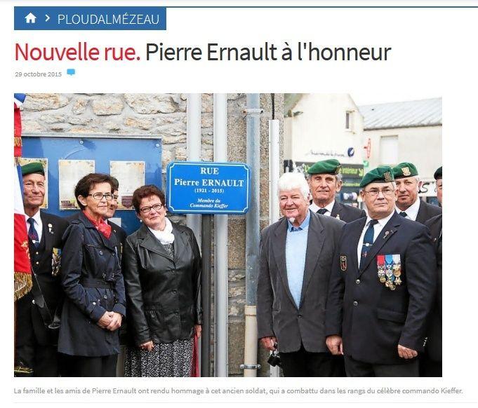 Mort de Pierre Ernault du commando Kieffer 2015-112