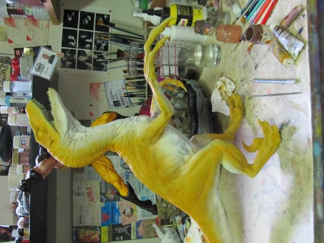Vélociraptor Jurassic Park. Img_7915
