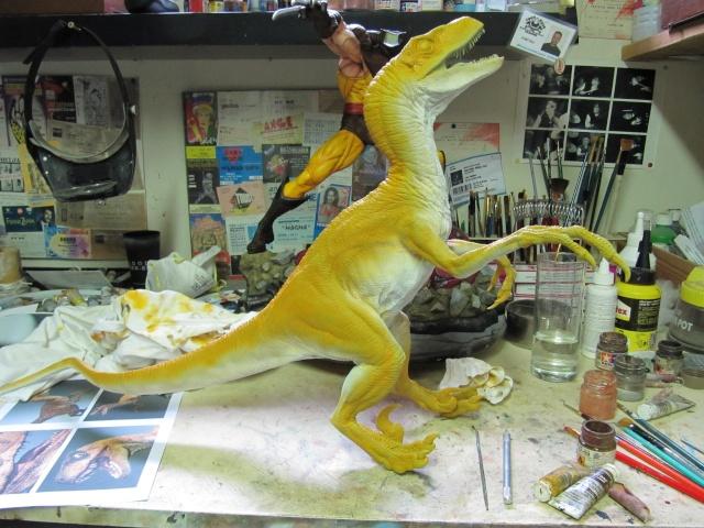 Vélociraptor Jurassic Park. Img_7916