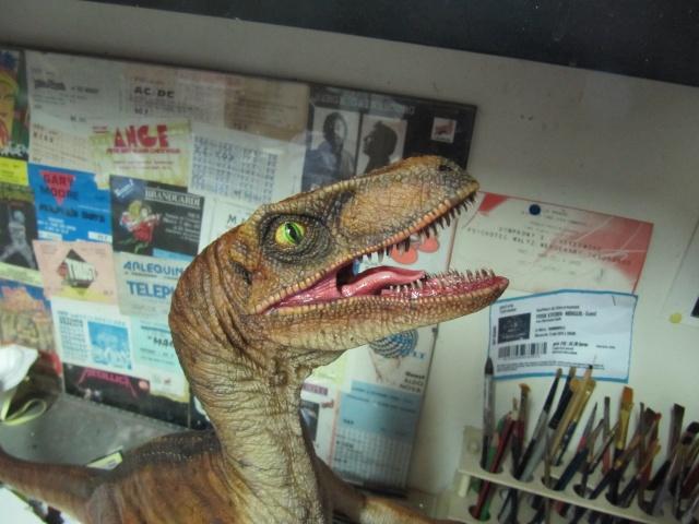 Vélociraptor Jurassic Park. Img_8014